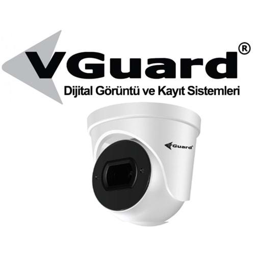 VGUARD VG-236-DV 2MP H265 DOME KAMERA