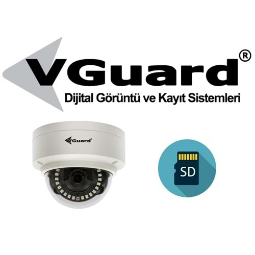VGUARD VG-230-DFS 2MP IP H.265+İP KAMERA 30 MT.
